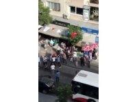 İzmir'de trafikte gergin dakikalar