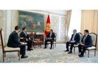 Kırgızistan Cumhurbaşkanı büyükelçilerin güven mektuplarını kabul etti