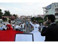 Tarsus'ta Ramazan güzelliği mahallelerde devam ediyor