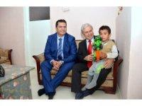 İl Sağlık Müdürü Bilge'nin ilçe ziyaretleri
