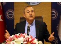 """Çavuşoğlu: """"Yargının eksikliklerini sadece FETÖ'ye bağlamamak lazım"""""""