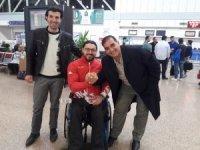 Dünya Şampiyonu Milli Sporcu Avrupa Şampiyonasına uğurlandı