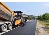 Düzce'de hedef 180 bin ton asfalt