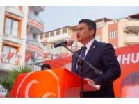 """MHP Osmaniye Milletvekili Ersoy: """"Ederi 1 dolarlık şerefsizlerin operasyonlarına maruz kalıyoruz"""""""