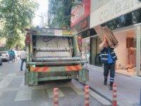 İzmit'te bir yılda 233 ton atık lastik toplandı