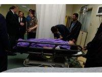 Erzurum'da öğrenci taşıyan minibüs devrildi: 14 yaralı