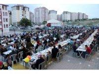 Nevşehir'de ilk kez mahalle iftarı yapıldı