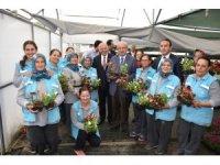 """""""Modern Serada Çiçekçilik Örnek Uygulama Alanı"""" projesinin açılışı yapıldı"""