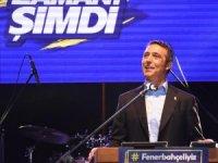 Fenerbahçe'nin başkan adayı Ali Koç, Muğla'da