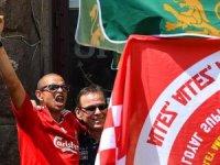 UEFA Şampiyonlar Ligi finali öncesi taraftar kavgası