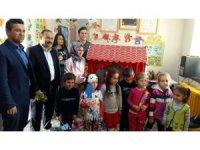 Lise öğrencilerinden anaokuluna 'Hayaller evi'