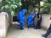 Apartman görevlisi, havuza dökülen kimyasaldan zehirlendi