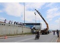 Çanakkale'de otogarında ilginç kaza