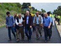 Başkan Kafaoğlu, asfalt yapım çalışmalarını inceledi