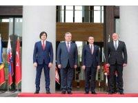 Tiflis'te Gürcistan Cumhuriyetinin 100. yıldönümü törenine Bakan Canikli de katıldı