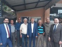 AK Parti Kütahya milletvekili adayları Gediz'i ziyaret etti