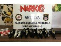Antalya'ya uyuşturucu madde operasyonu: 2 gözaltı