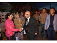 Başkan Kayda, çat kapı iftarlarına devam ediyor