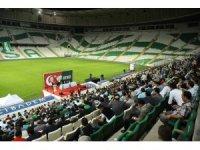 Bursaspor'un genel kurulunda büyük gerginlik