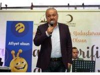 Başkan Babaş, 5 bin 500 kişiyle birlikte iftar yaptı