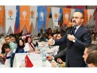 AK Partili Turan,  Biga İlçe Teşkilatının iftar programına katıldı