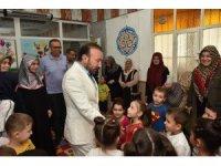 Başkan Doğan'dan Kuran kursu ziyareti