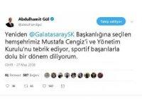 Adalet Bakın Gül'den hemşehrisi Mustafa Cengiz'e kutlama