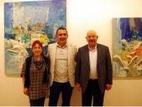 Raif Kalyoncu'nun Resim Sergisine İlgi