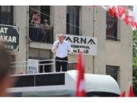Cumhurbaşkanı adayı Muharrem İnce İzmir'de