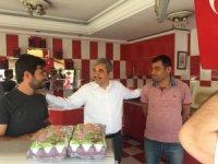 AK Parti'li adaylar sahaya çıktı