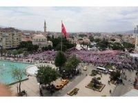 Akşener, Aydın'da hedeflenen kalabalığı toplayamadı
