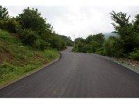 Akıncı Mahallesi asfaltlanarak yenilendi
