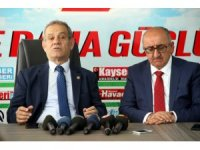 Türkiye Gazeteciler Federasyonu Başkanı Yılmaz Karaca'dan KGC'ye ziyaret