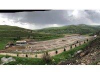 Susuz Şelalesi ve mesire alanında çalışmalar devam ediyor