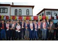 Restorasyonu tamamlanan tarihi Arasta Bedesteni açıldı