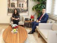 Bakan Sarıeroğlu'ndan, Vali Demirtaş'a ziyaret