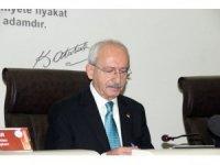 """CHP lideri Kılıçdaroğlu: """"Siyasetçiye duyulan güven neredeyse yerlerde sürünüyor"""""""
