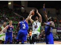Tahincioğlu Basketbol Süper Ligi play-off: TOFAŞ: 91 - Anadolu Efes: 63