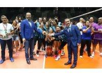 Voleybol Hakemleri ve Gözlemcileri Derneği Federasyonu turnuvası sona erdi