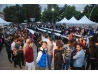 Tokat'ta 2 bin 500 kişi birlikte iftar yaptı