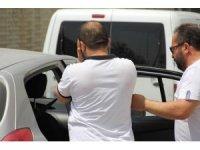 Uyuşturucuları atıp kaçarken yakalanan şahsa adli kontrol