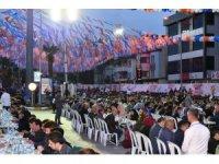 Cumhurbaşkanı Erdoğan, Balıkesir'de binlerce kişiyle iftar yaptı
