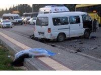 Gaziantep'te trafik kazası: 1 ölü, 12 yaralı