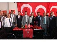 MHP adaylarına karşılama