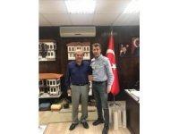 Orman İşletme Müdürü Yurt'tan Başkan Şahin'e ziyaret