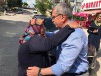Başkan Çetin gönüllere dokunuyor