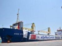 Türkiye'den Gazze'ye 1.2 milyon dolarlık yardım
