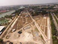 Yüreğir Kıyıpark inşaatı hızla devam ediyor