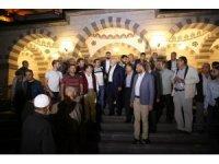 Başkan Büyükkılıç'a; Erenköy Mahallesinde çay ikramı