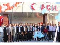 Eskil Devlet Hastanesine ek acil ünitesi açıldı